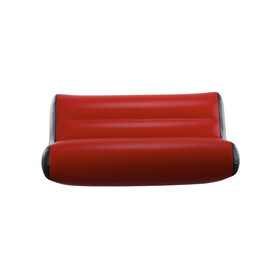 nortik Residair Inflatable Couch Residair Inflatable Sofa, rot/schwarz